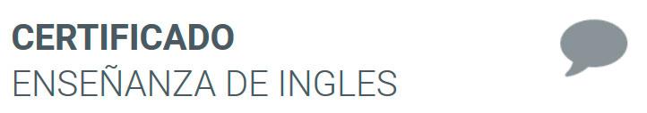 Certificado de Enseñanza de Inglés