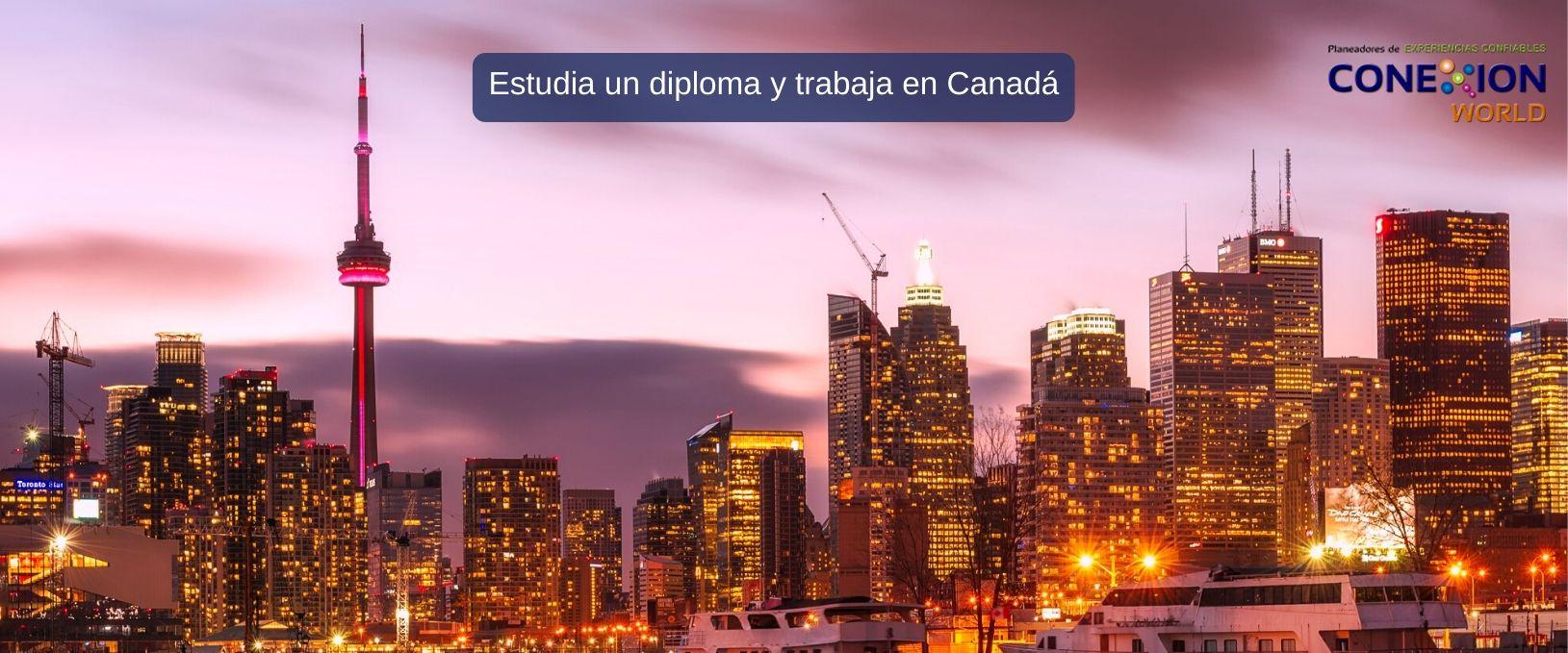 Estudia un diploma y trabaja en Canadá