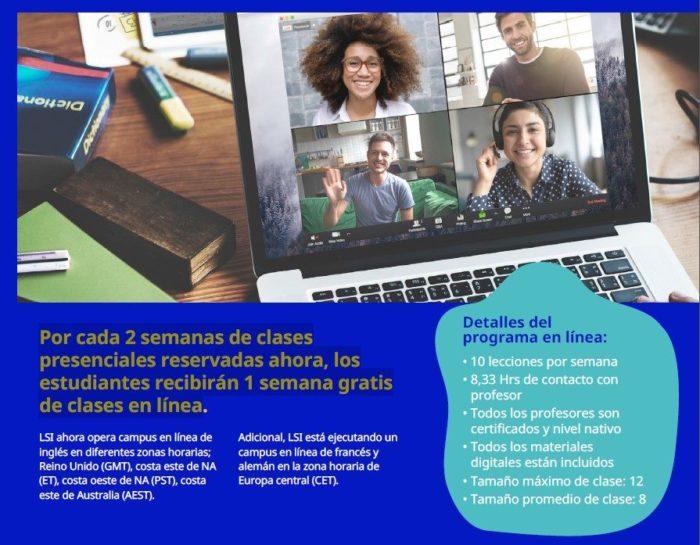 Clases de inglés gratis Online con LSI