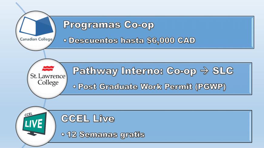 Pomo Becas Canadian College